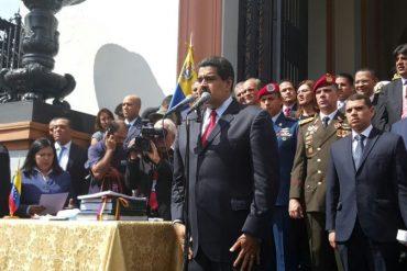 ¡SIN ANESTESIA! Maduro firmó el Presupuesto Nacional 2017 y ordenó su publicación en Gaceta (+Video)