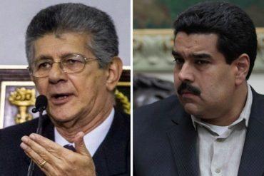 ¡PARA PREOCUPARSE! El polémico tuit de Ramos Allup que hará dudar a Maduro de sus hombres de confianza