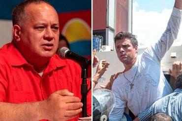 ¡SIGUE LA FIJACIÓN! Cabello pidió presionar para que López sea imputado por 43 asesinatos