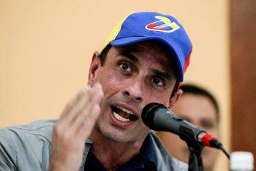 """¡ES AHORA! Capriles llama a participar en marcha del 23-E: """"Al país lo tenemos que salvar nosotros"""""""
