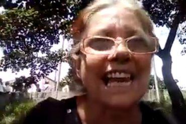 """¡AY, NICOLÁS! Madre resteada: """"¿No quieren referendo? Pues vamos a ver cómo nos sacan de la calle"""""""