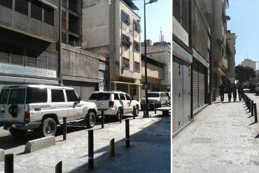 ¡ÚLTIMA HORA! Varios muertos durante tiroteo en edificio cercano a la AN (+Video)