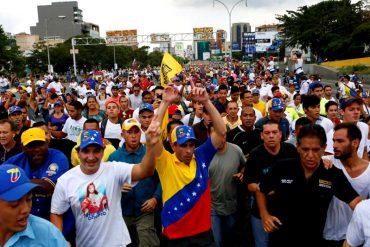 ¡AQUÍ ESTÁ EL DIÁLOGO! Capriles reporta: 120 heridos y 147 detenidos por pedir revocatorio (+Video)