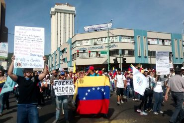 ¡A SEGUIR EL EJEMPLO! Valencia se activa y toma la calle en apoyo a la Toma de Venezuela