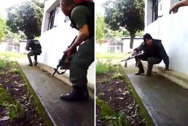 """¡COMO EN LA GUERRA! """"A plomo limpio"""" reclusos de la PGV impidieron toma de la GNB (+Videos)"""