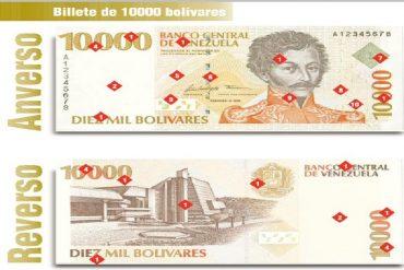 ¡SÉPANLO! AN aprobó emisión de billetes y recomendó el de 10.000 como el de mayor denominación