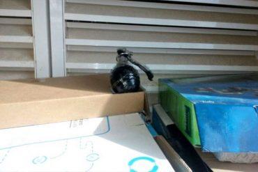 ¡ESOS NO SON JUEGOS! Alumno causa alarma por ingresar granada falsa a escuela de Turmero