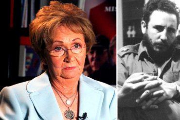 ¡QUÉ ESPERANZA! La hermana de Fidel Castro, Juanita, no irá a su funeral en Cuba (está exilada en Miami)