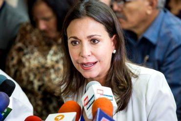 ¡TAJANTE! Así respondió María Corina Machado tras los acuerdos entre el gobierno y la MUD