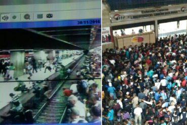 ¡ENTÉRESE! Colapsó ferrocarril de los Valles del Tuy: usuarios caminaron por los rieles (+Video)