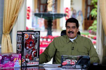 ¡BENEFICIOS ROJOS! Maduro anunció que los CLAP distribuirán 10 millones de juguetes (solo para quienes tengan Carnet de la Patria)