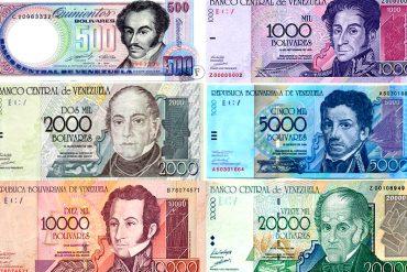 ¡ENTÉRATE! 6 nuevos billetes y 3 monedas se sumarán al cono monetario el 15-D (+Comunicado)