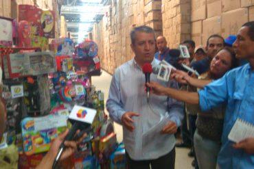 """¡Y SIGUE """"SANTACLAP""""! Sundde decomisó este sábado otro millón de juguetes Kreisel en galpón de Guarenas"""