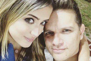 ¡TE LA MOSTRAMOS! La cursi dedicatoria de Omar Acedo a Daniela Cabello el 14 de febrero