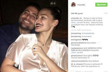 ¡SE LANZAN AL AGUA! Migbelis Castellanos anunció su compromiso con el pelotero Francisco Cervelli (+Fotos)