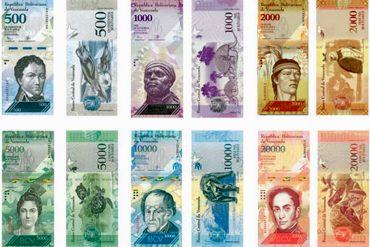 ¡AQUÍ LOS TIENES! Se revelan los diseños de los nuevos billetes del cono monetario (Chávez no figuró)