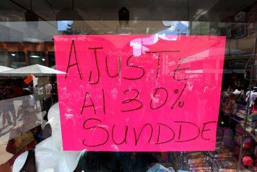 ¡COMENZÓ EL DAKAZO! Sundde obligó a comerciantes a ofrecer rebajas de sus productos