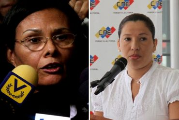 ¡PISOTEANDO LA ASAMBLEA! TSJ podría ratificar a Hernández y D' Amelio como rectoras del CNE