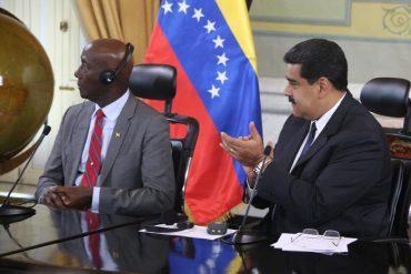 ¡SIGUE LA REGALADERA! En plena crisis Venezuela y Trinidad y Tobago firman acuerdos en materia energética