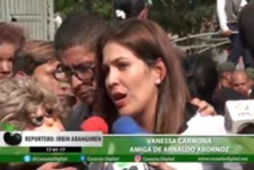 """¡PARA LLORAR! """"Te amaré toda mi vida"""" Las conmovedoras palabras de Vanessa Carmona a Arnaldo (+Video)"""