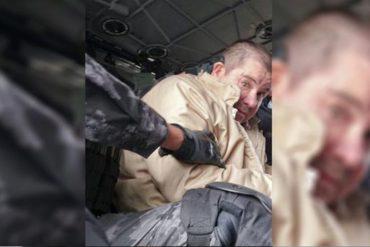 """¡PÍLLALAS AQUÍ! Las primeras fotos del """"Chapo"""" Guzmán en su traslado a los Estados Unidos"""