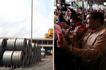¡DESCARADOS! Maquillaron zonas abandonadas de Sidor ante visita de Nicolás Maduro