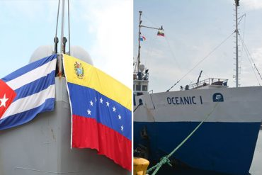 ¿Y VENEZUELA CUÁNDO? Desde Puerto Cabello salió un cargamento de ayuda humanitaria para Cuba