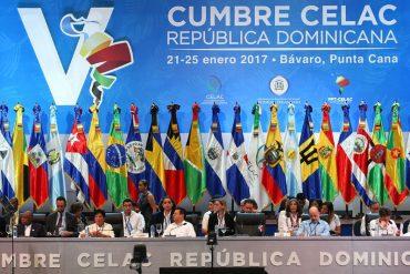 """¡EVO CON LOS CRESPOS HECHOS! Celac rechaza propuesta de Bolivia de condenar """"injerencia"""" de EE.UU."""