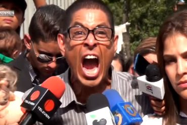 ¡CON TODO! Lo que gritó el intérprete de Doña Griselda en el entierro de Arnaldo Albornoz (+Video)