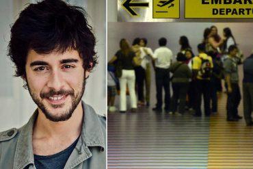¡ATENCIÓN! Corresponsal extranjero de canal alemán fue detenido en el Aeropuerto de Maiquetía