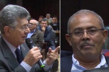 ¡LE DIO CON TODO! Así fue como Ramos Allup le tapó la boca al diputado oficialista Juan Marín (+Video)