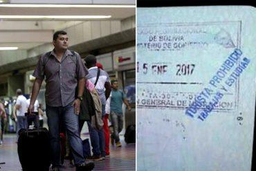 ¡LO QUE FALTABA! El supuesto sello que estarían colocando a los pasaportes de venezolanos en Bolivia