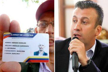 """¡PATÉTICO! El Aissami y la nueva forma de mantener bajo el yugo a los venezolanos: """"Carnet o nada"""" (+Video)"""