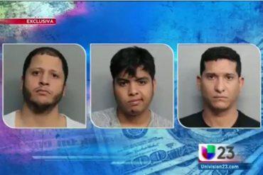 ¡OTRA RAYA PA´L TIGRE! Detienen a tres venezolanos por fraude con tarjetas de crédito en EEUU (Video)