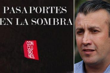 ¡EXPLOSIVA! La revelación que hizo CNN sobre la venta de pasaportes venezolanos en Irak (Tareck involucrado)