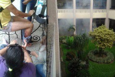 ¡ATENCIÓN! Reportan represión policial en la Ucat: hay varios estudiantes heridos (+Videos +Fotos)