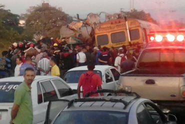 ¡ENTÉRATE!  Una falla mecánica causó el fatal accidente en Güigüe