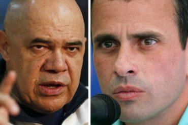 """¡TREMENDO DARDO! La """"puntica""""  que """"Chúo"""" Torrealba le envió a Capriles por su mensaje a Lorenzo Mendoza"""