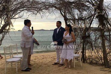 ¡DERROCHE SOCIALISTA! Se filtran fotos de la boda playera del presidente de VTV (+Imágenes)