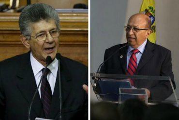 ¡TOMA! Ramos Allup a Manuel Galindo: No me puede allanar la inmunidad nadie que no sea la Asamblea (+Video)