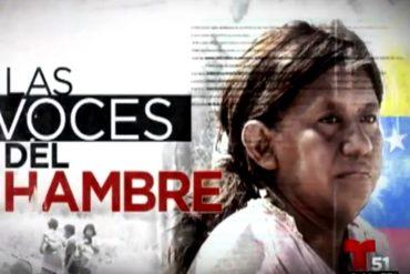 """¡MÍRALO ANTES QUE LO QUITEN! """"Las Voces del Hambre"""", reportaje que muestra la CRUDA realidad del país"""