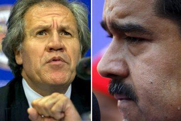 ¡CON TODO! Las 7 duros puñetazos de Luis Almagro en respuesta a la propuesta de Maduro