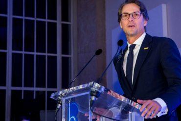 ¡ORGULLO VENEZOLANO! Lorenzo Mendoza recibió en Londres el Premio a la Audacia Empresarial