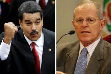 "¡IRRESPETUOSO! Maduro llamó ""perrito de Trump"" al presidente Pedro Pablo Kuczynski (Video)"