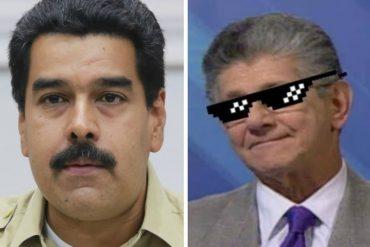 """¡LE DIO CON TODO! Ramos Allup a Maduro: """"Soy heterosexual, a mí me gusta mi mujer, usted enfóquese en Cilia"""""""