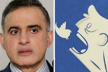 ¡DENLE! Tuiteros reventaron a Tarek William Saab porque despotrica de la OEA y no dice ni pío sobre la crisis y el TSJ