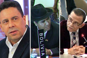 ¡APARECEN LOS TRES CHIFLADOS! Venezuela y su combo (Nicaragua y Bolivia) pedirán destitución de Almagro en la OEA