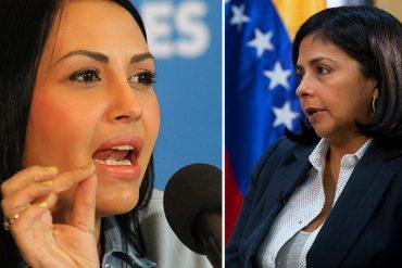 """¡LO DIJO TODO! La brutal descarga de Delsa Solórzano a Delcy Rodríguez: """"¿Cuántos pueblos tienes que matar?"""" (+Video)"""