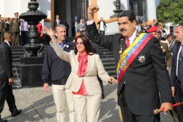 ¡FALTA DE RESPETO! Así Maduro manda a los de protocolo a que se quiten del medio (+Video)