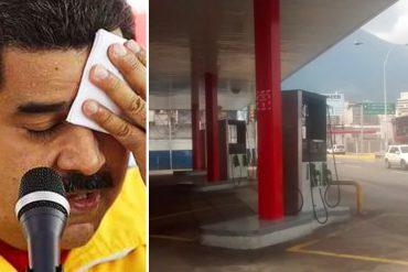 ¡GRAVE! Gasolineras de la Gran Caracas solo tienen reservas para dos días